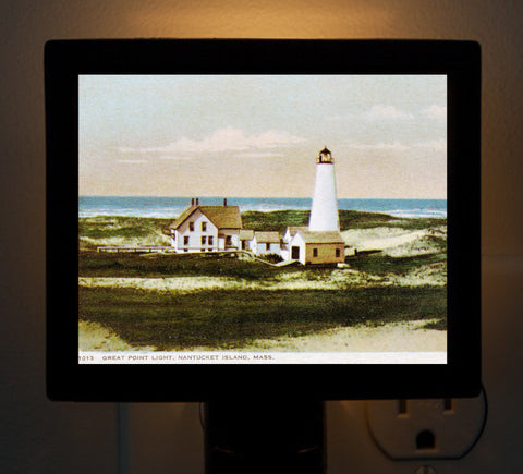 Nantucket - Great Point Light Night Light