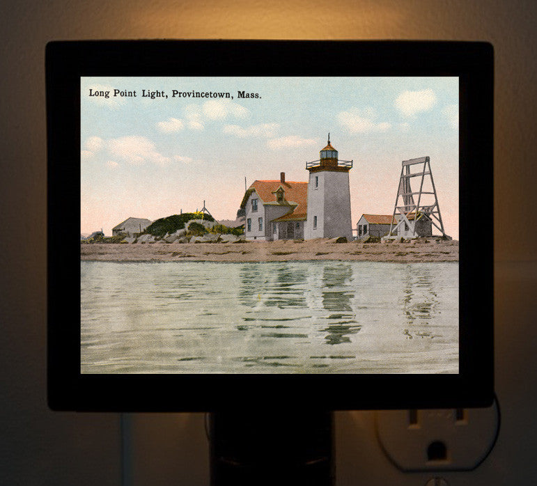 Provincetown - Long Point Light Night Light - That Fabled Shore Home Decor