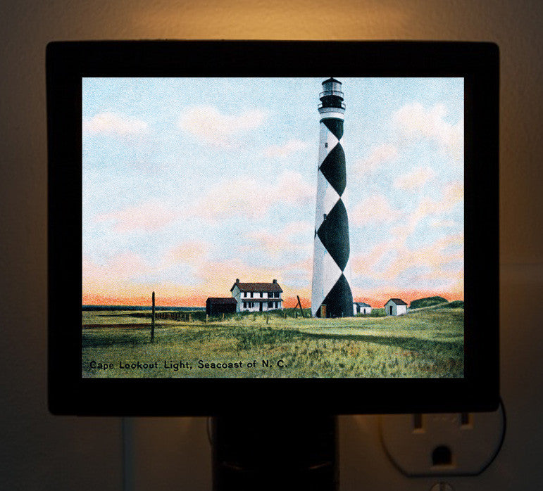 NC - Cape Lookout Light - That Fabled Shore Home Decor