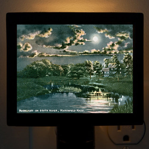 Marshfield - South River Night Light - That Fabled Shore Home Decor