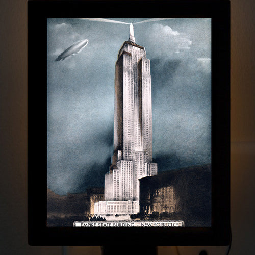 Empire State Building Night Light - That Fabled Shore Home Decor