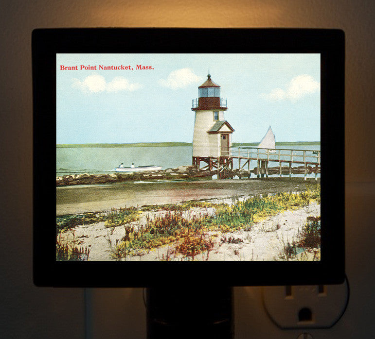Nantucket - Brant Point Light Night Light - That Fabled Shore Home Decor