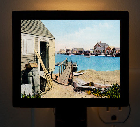 Nantucket - Fisherman's Shack Night Light - That Fabled Shore Home Decor