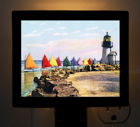 Nantucket Rainbow Fleet #1 Night Light