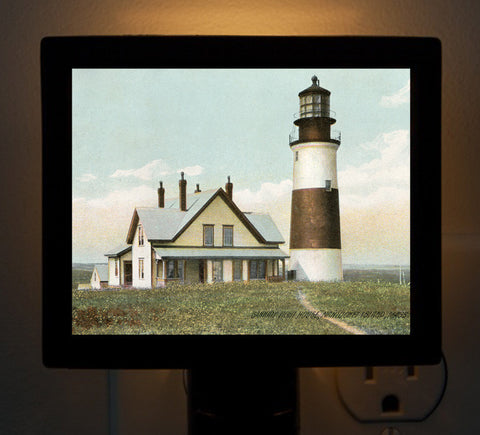Nantucket - Sankaty Light (2) Night Light - That Fabled Shore Home Decor