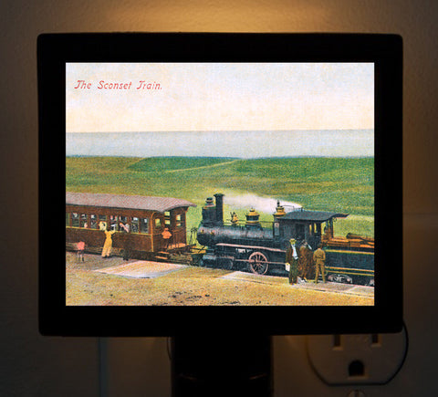 Nantucket - Sconset Train Night Light - That Fabled Shore Home Decor