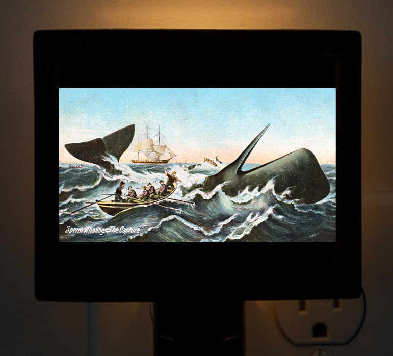 Nantucket - Whaling Night Light - That Fabled Shore Home Decor