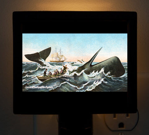 Nantucket - Whaling Night Light