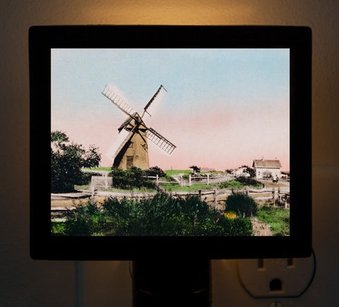 Nantucket - Windmill Night Light