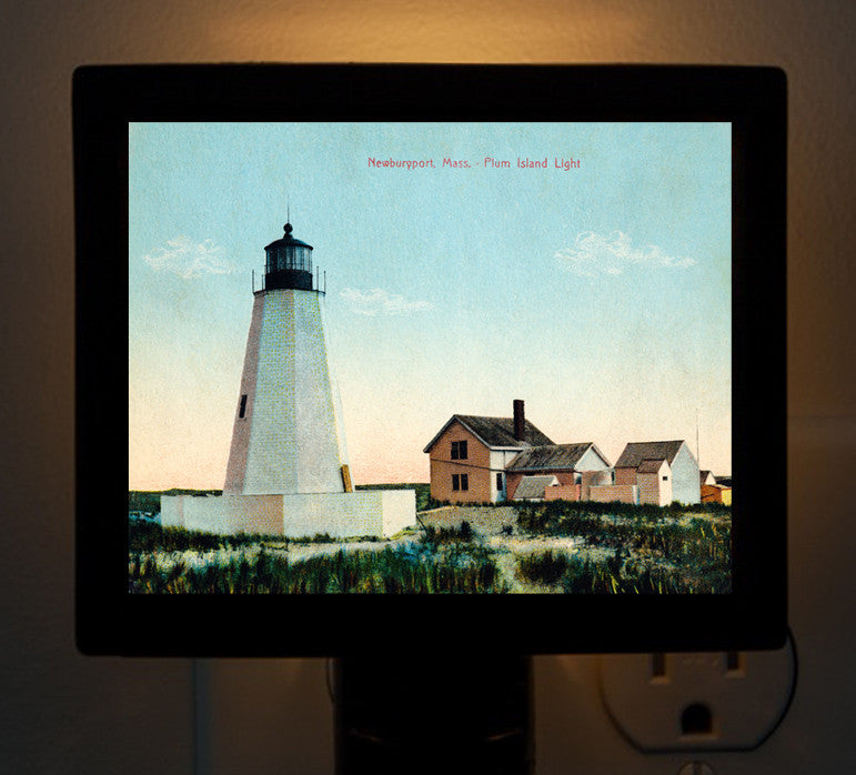 Plum Island Lighthouse (2) Night Light - That Fabled Shore Home Decor