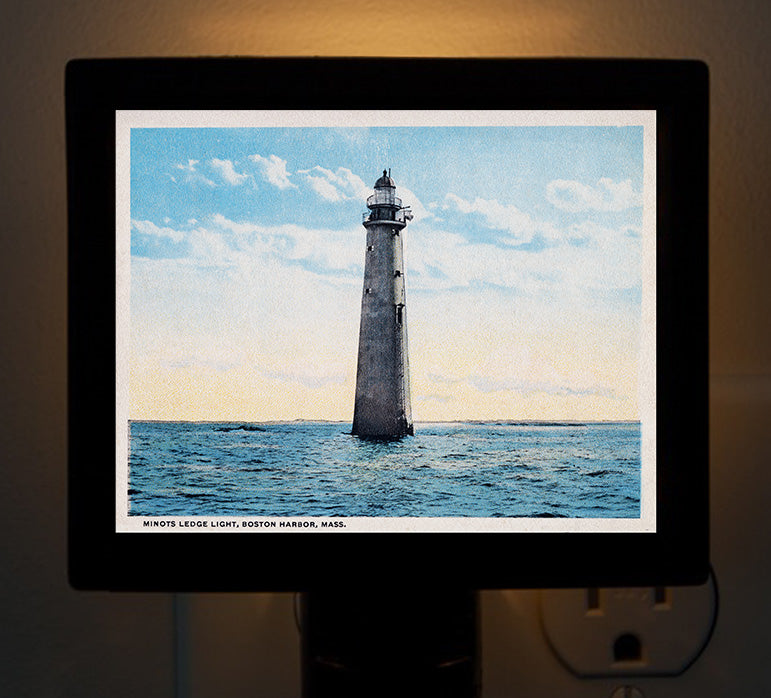 Minot Light Night Light - That Fabled Shore Home Decor