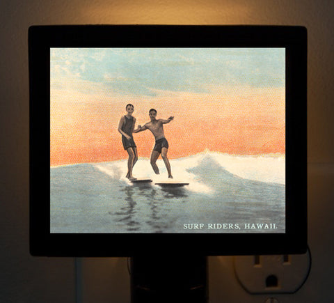 Hawaii - Early Surf Buddies Night Light
