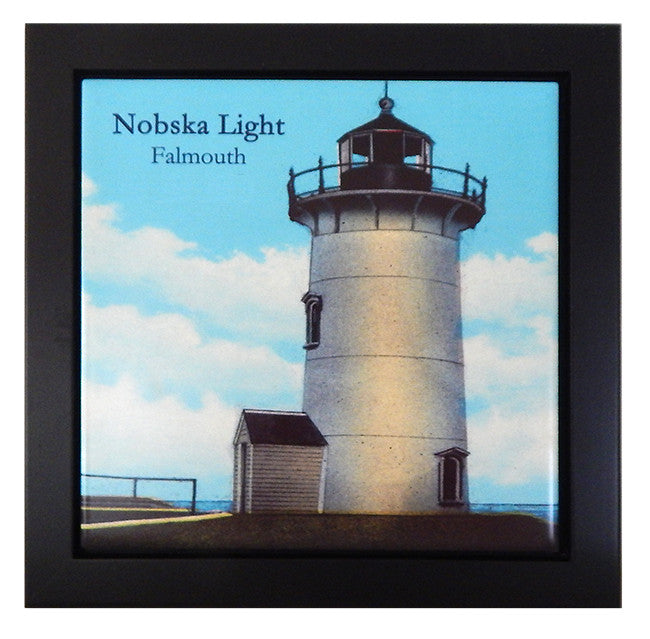 Nobska Light Art Tile & Trivet - That Fabled Shore Home Decor