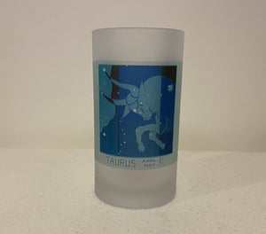 Art Deco Taurus Beer Mug Featuring Star Map