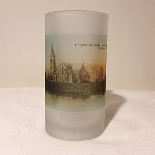 University of Massachusetts Beer Mug Featuring The Old Chapel - That Fabled Shore Home Decor
