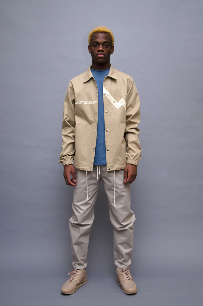 The North Hill Karma Coach Jacket is a made in France jacket