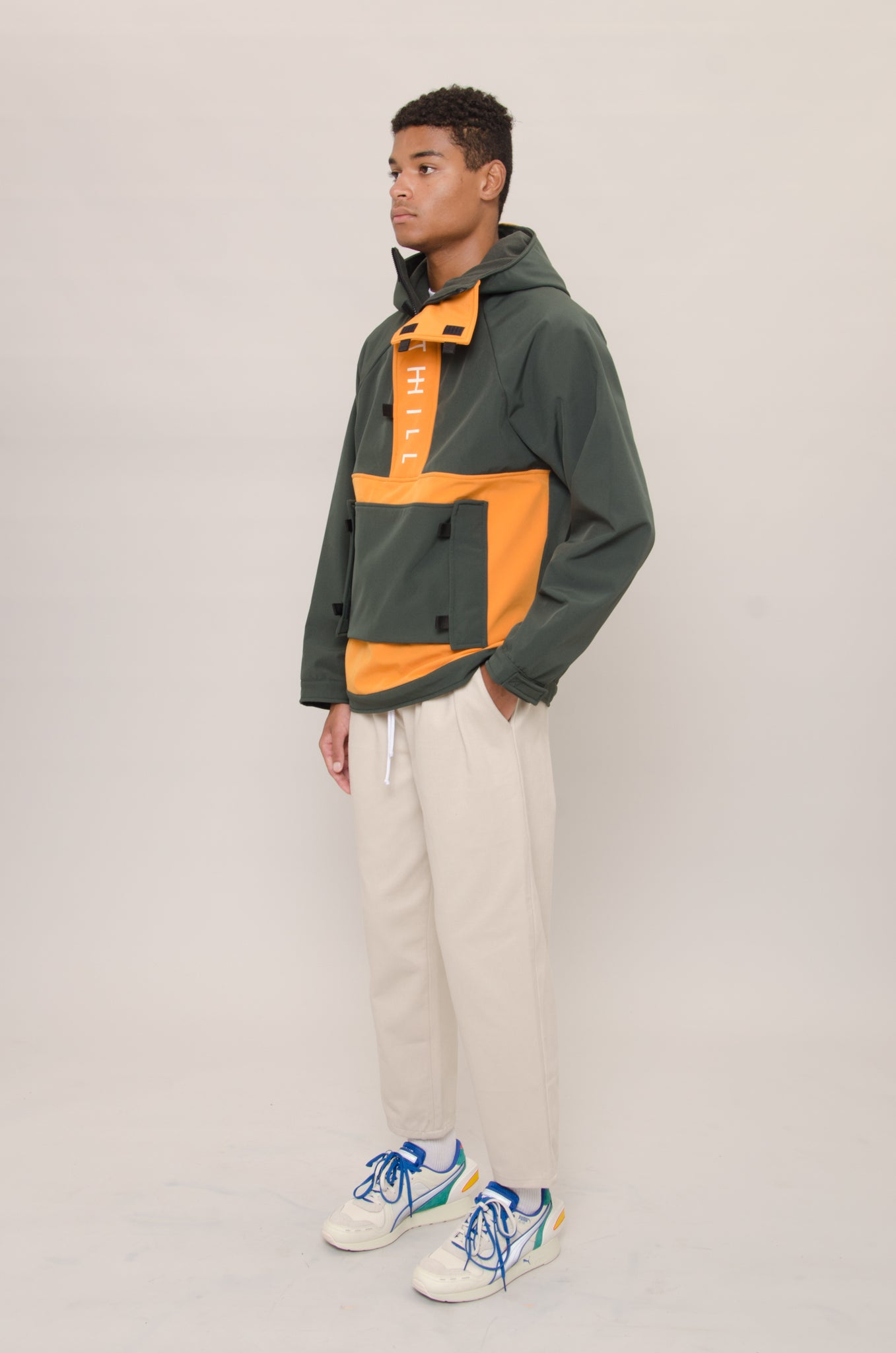 Green Pullover Anorak