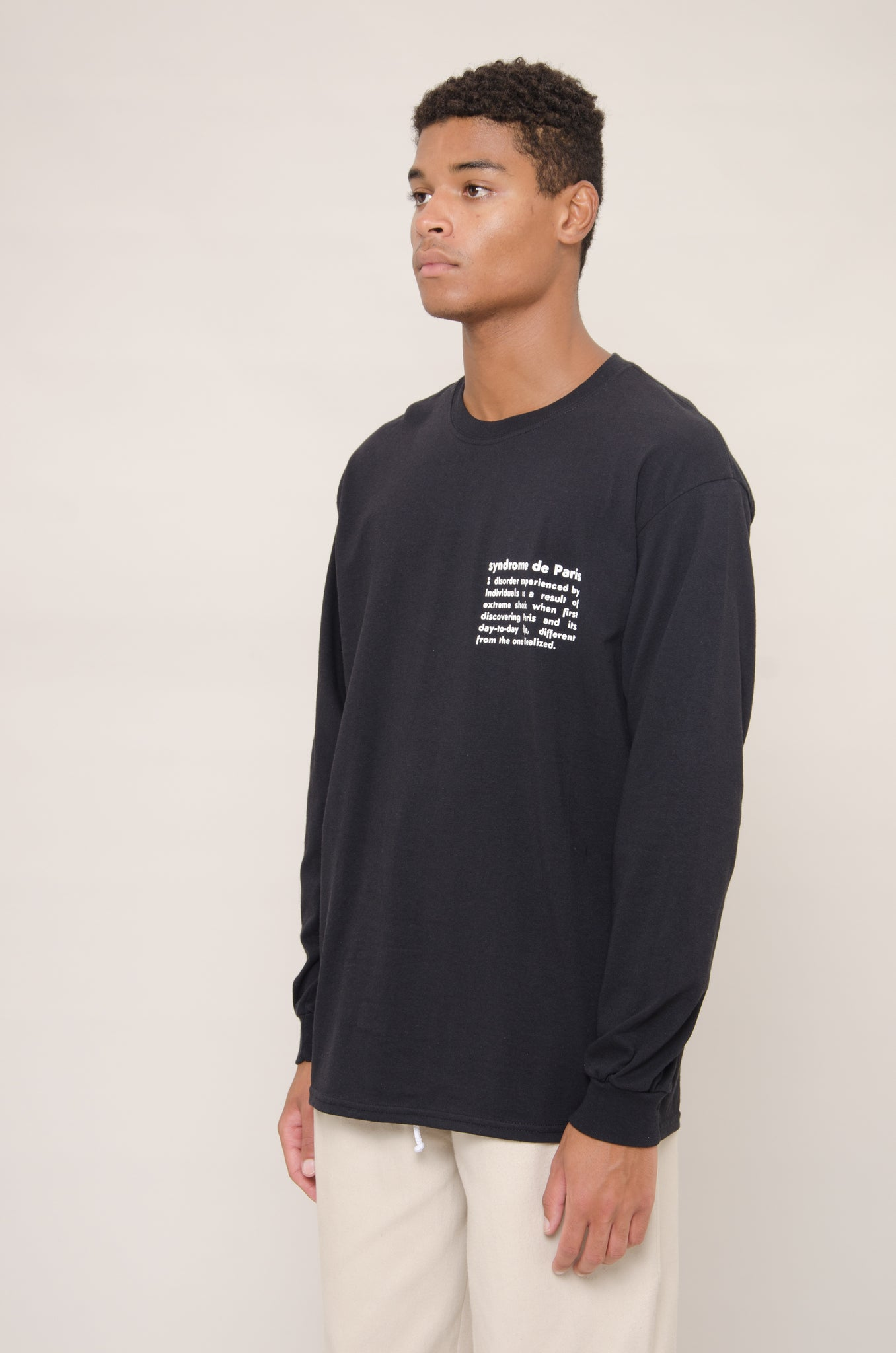 Longsleeve Definition Tee (Black)