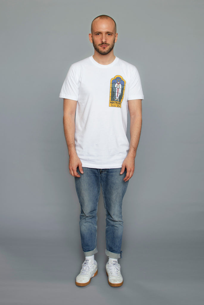 The North Hill Saint Denis Tee is a made in France t-shirt
