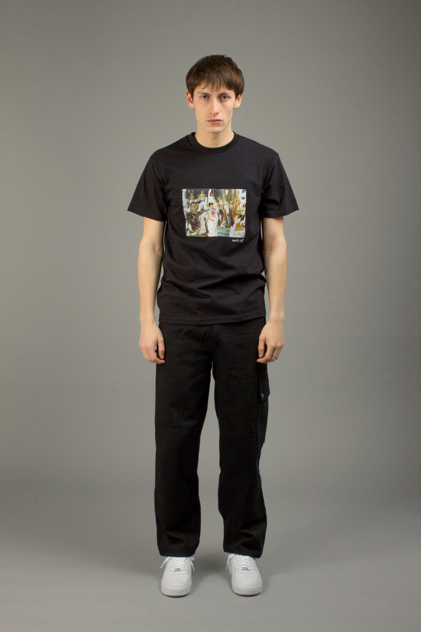 BLACK SACRE DE FRIDA TEE