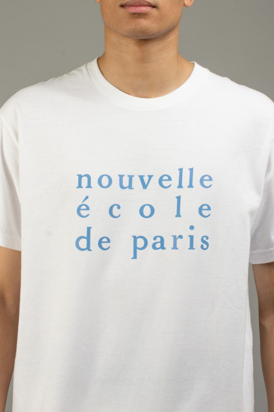 WHITE NOUVELLE ECOLE TEE