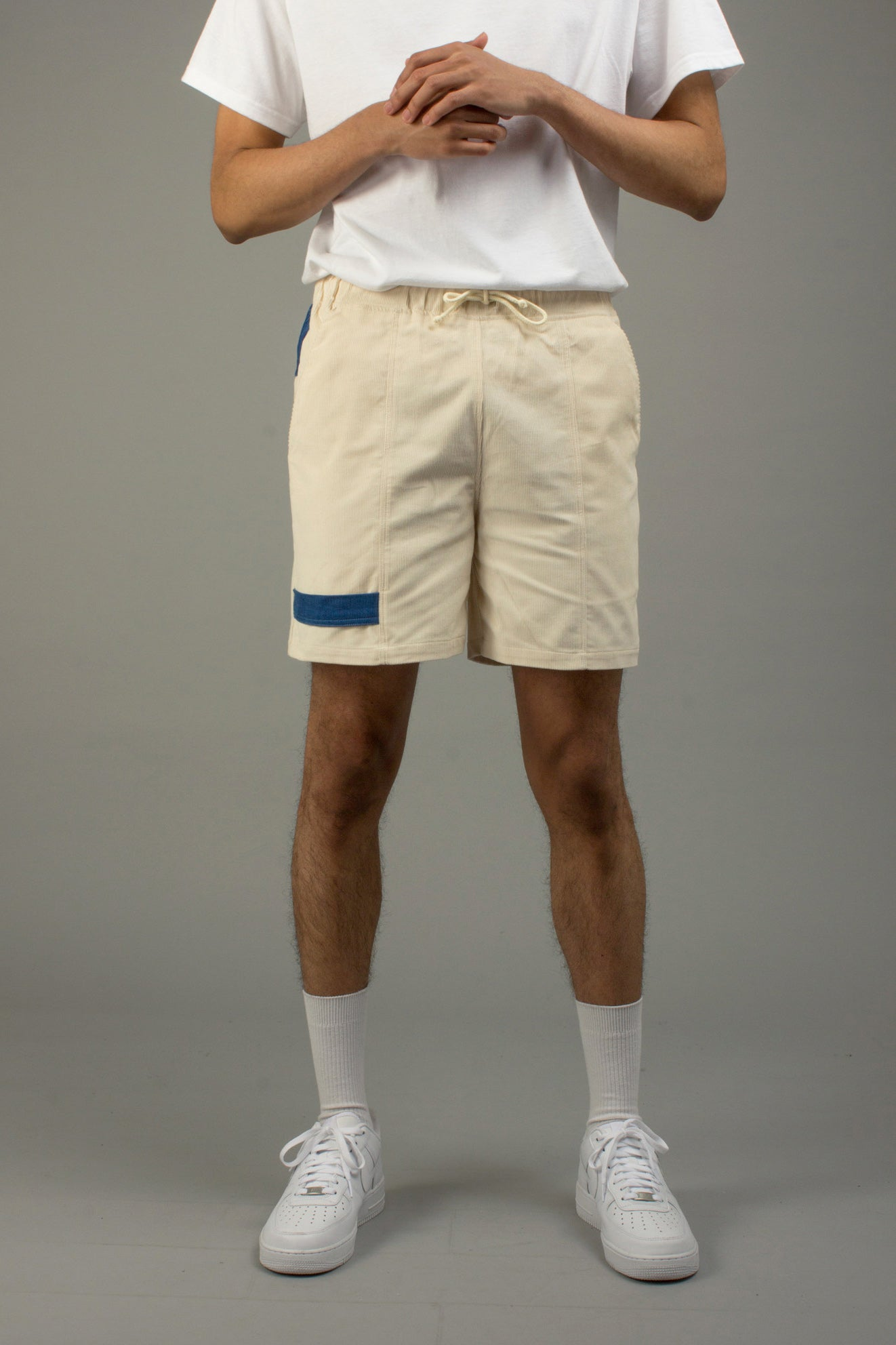OFF-WHITE CORDUROY SHORTS