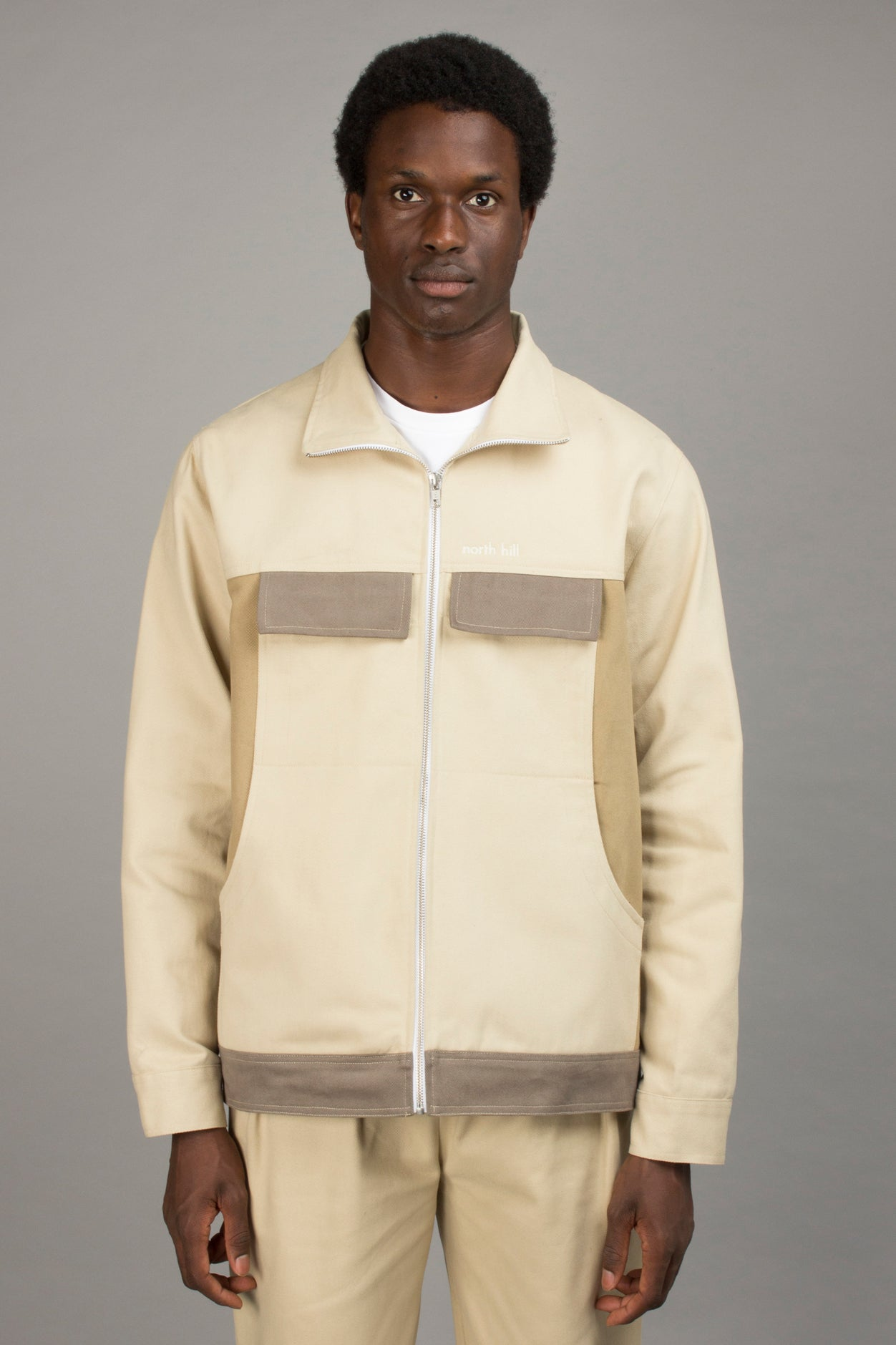 COLORBLOCK ZIP JACKET