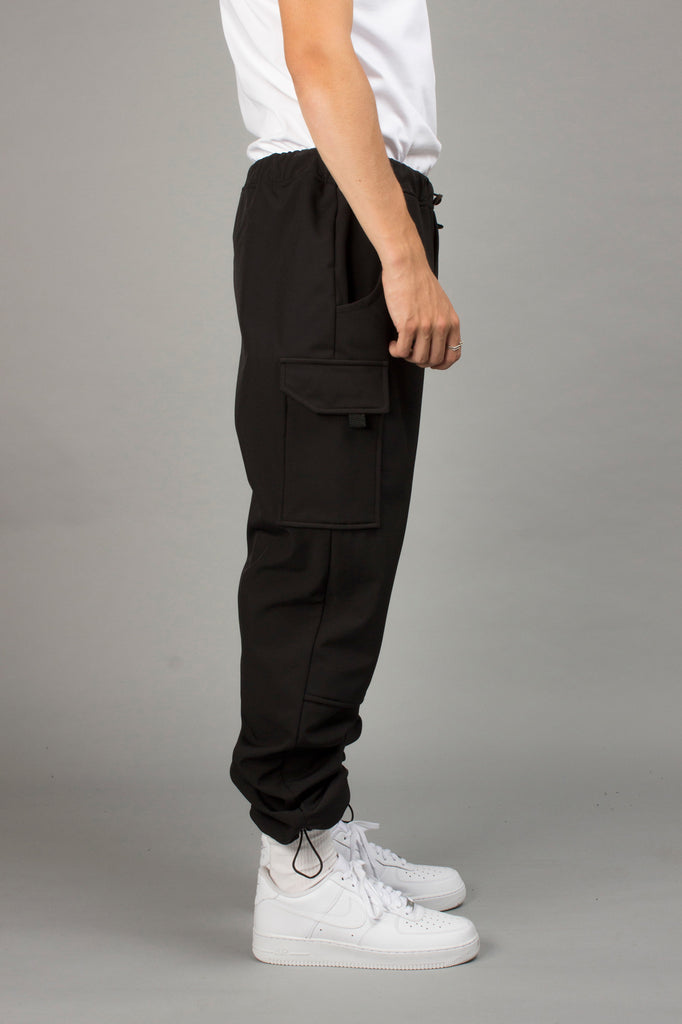 BLACK SOFTSHELL PANT