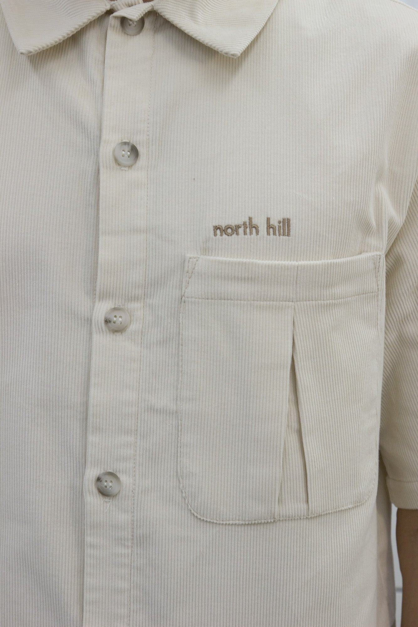 Off-white Short Sleeve Shirt