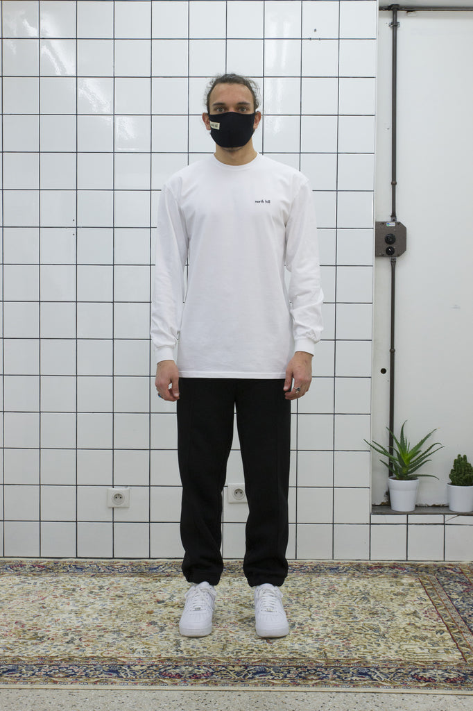 White North Hill Longsleeve Tee