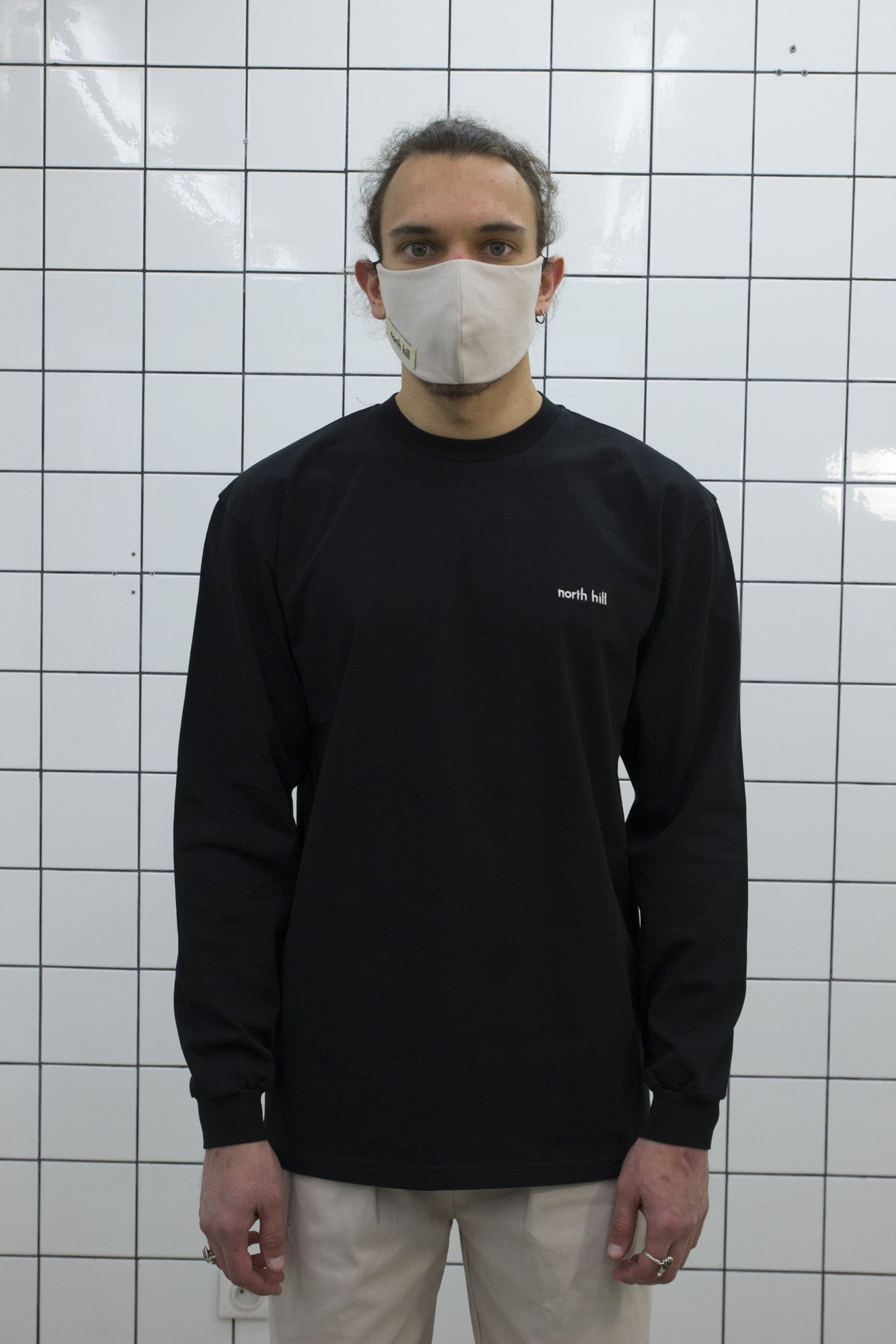 Black North Hill Longsleeve Tee