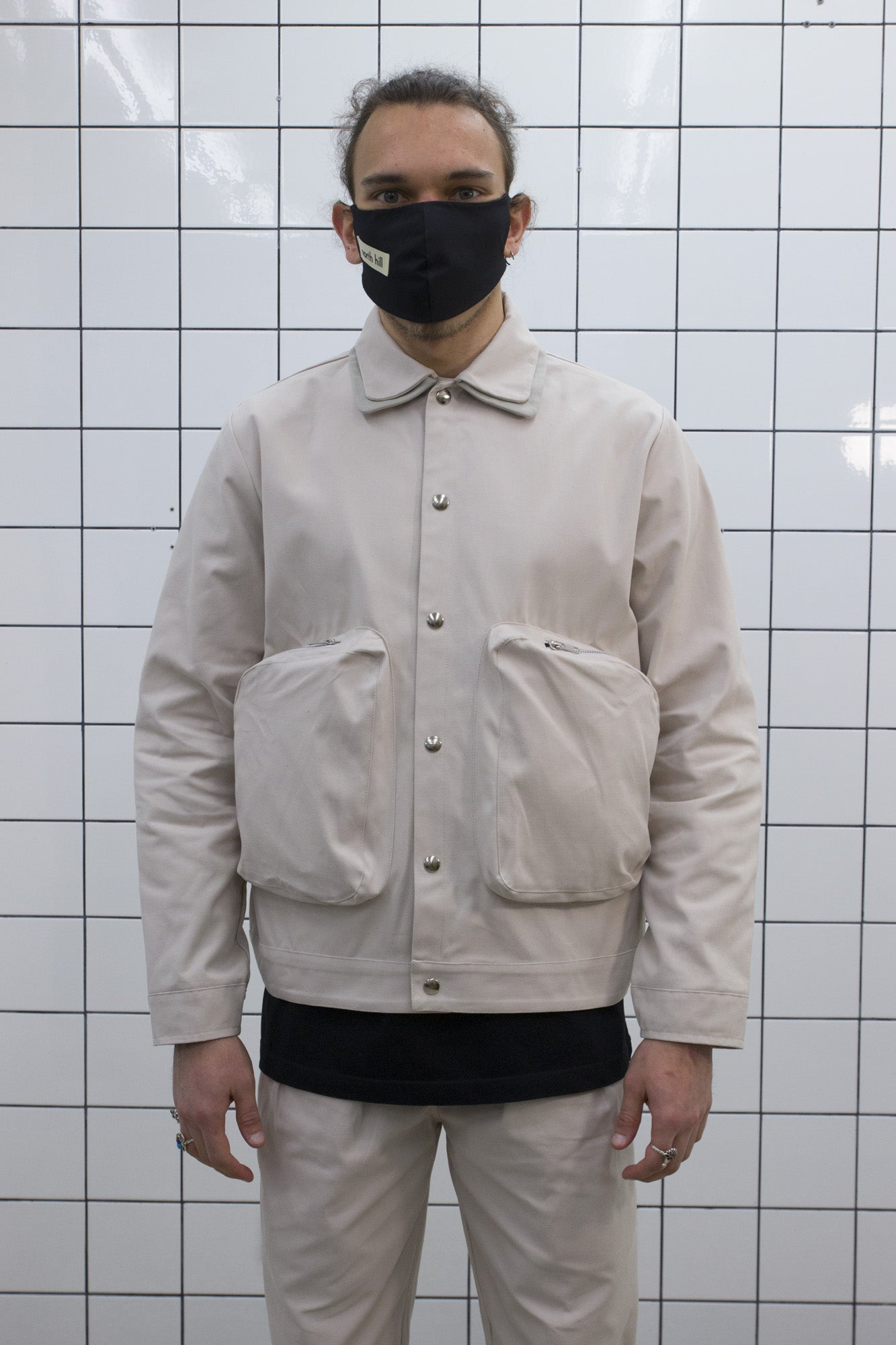 Cream Coach Jacket