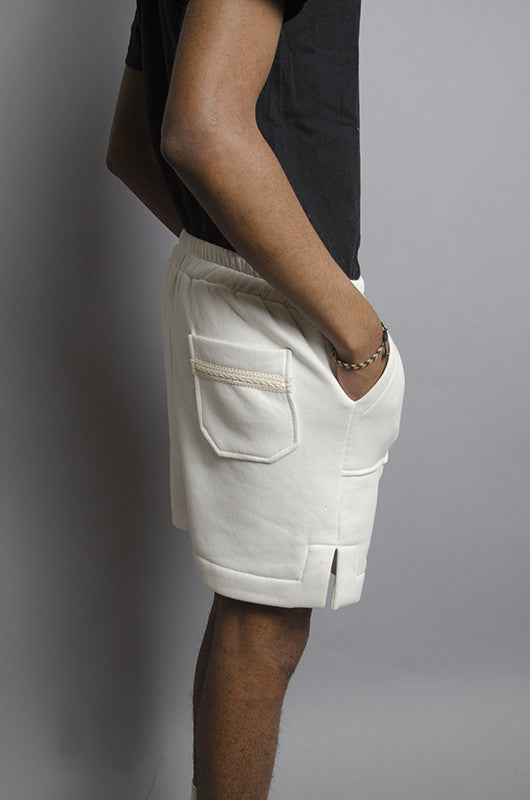 The North Hill Two-tone Vented Sport Shorts is a made in France shorts