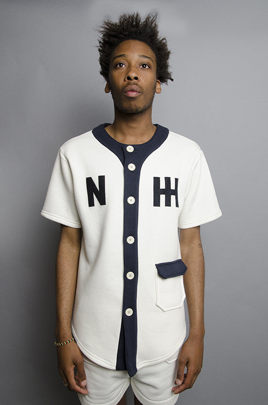 The North Hill Two-tone Baseball Jersey is a made in France jacket