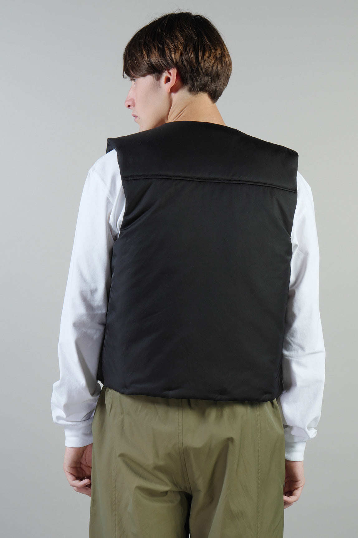 PADDED VEST WATERPROOF BLACK