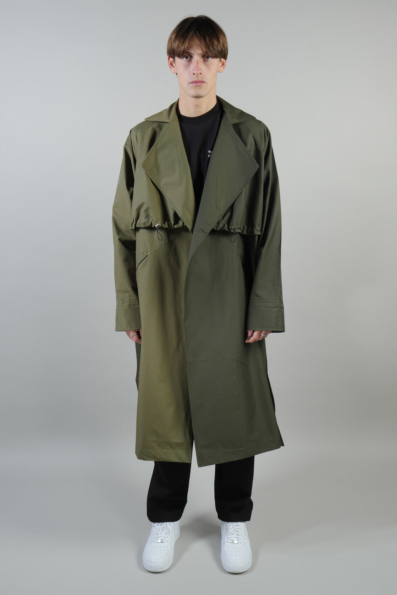 TRENCH COAT WATERPROOF GREEN