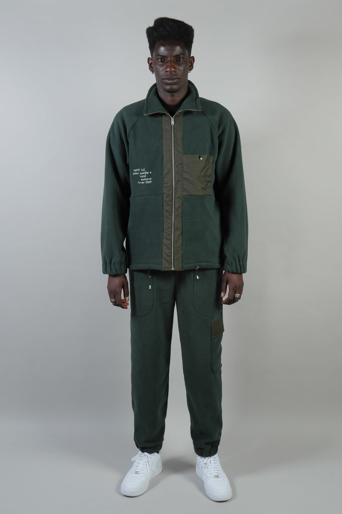 POLAR JACKET GREEN