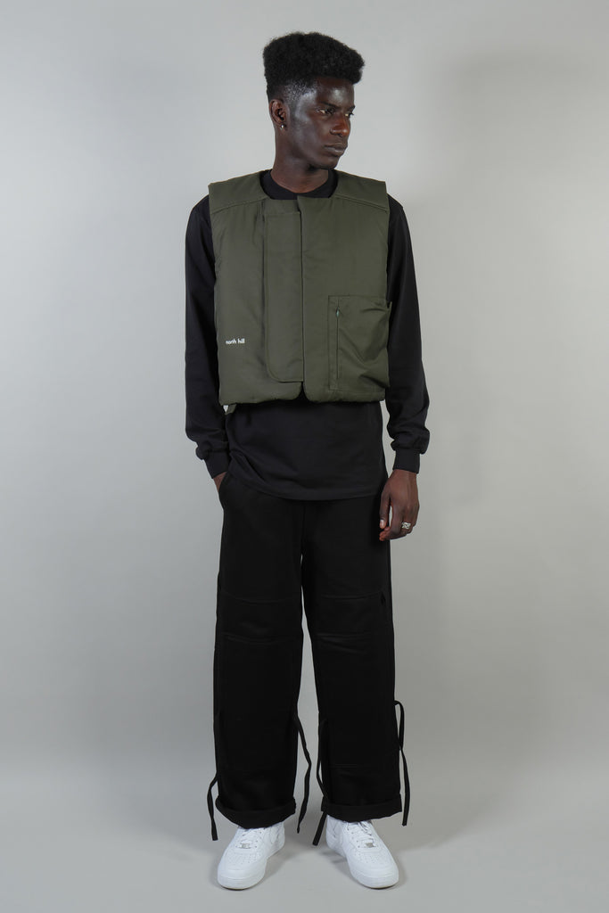 PADDED VEST WATERPROOF GREEN
