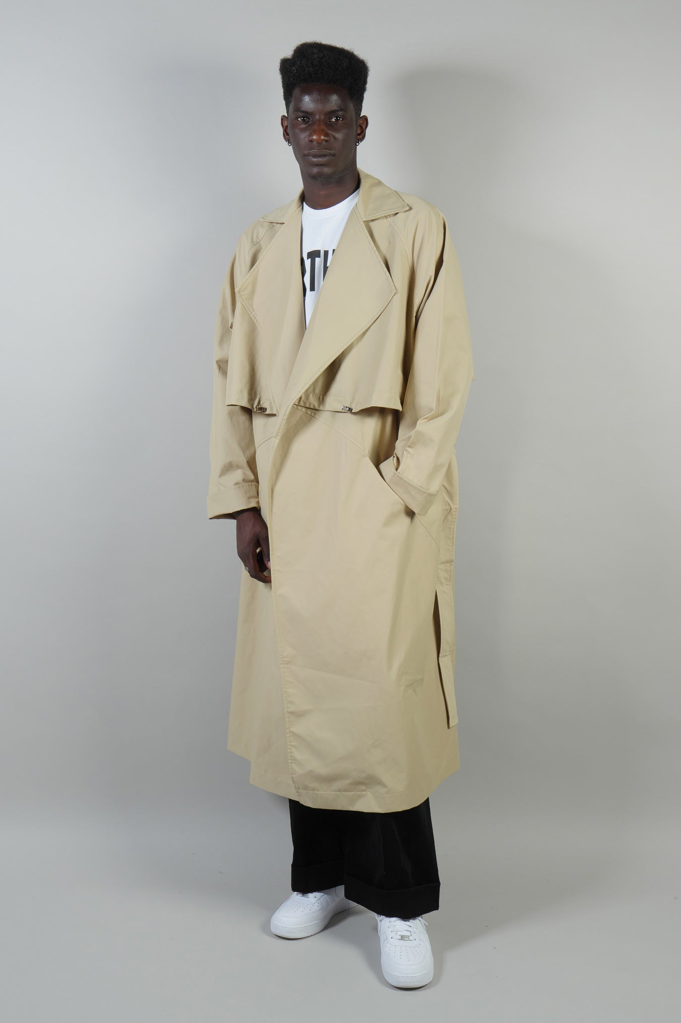 TRENCH COAT WATERPROOF BEIGE