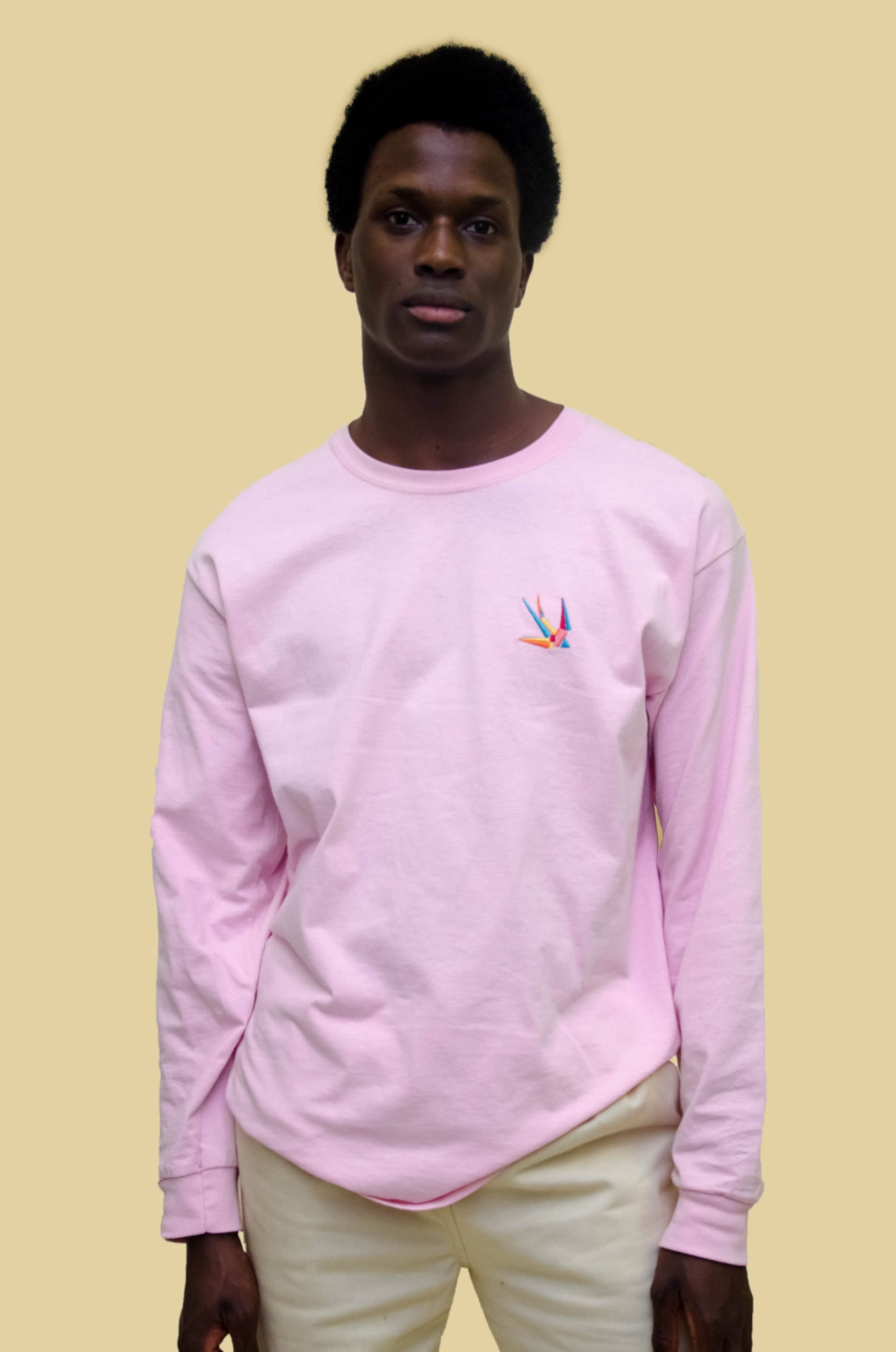 The North Hill Hirondelle Longsleeve Tee is a made in France t-shirt
