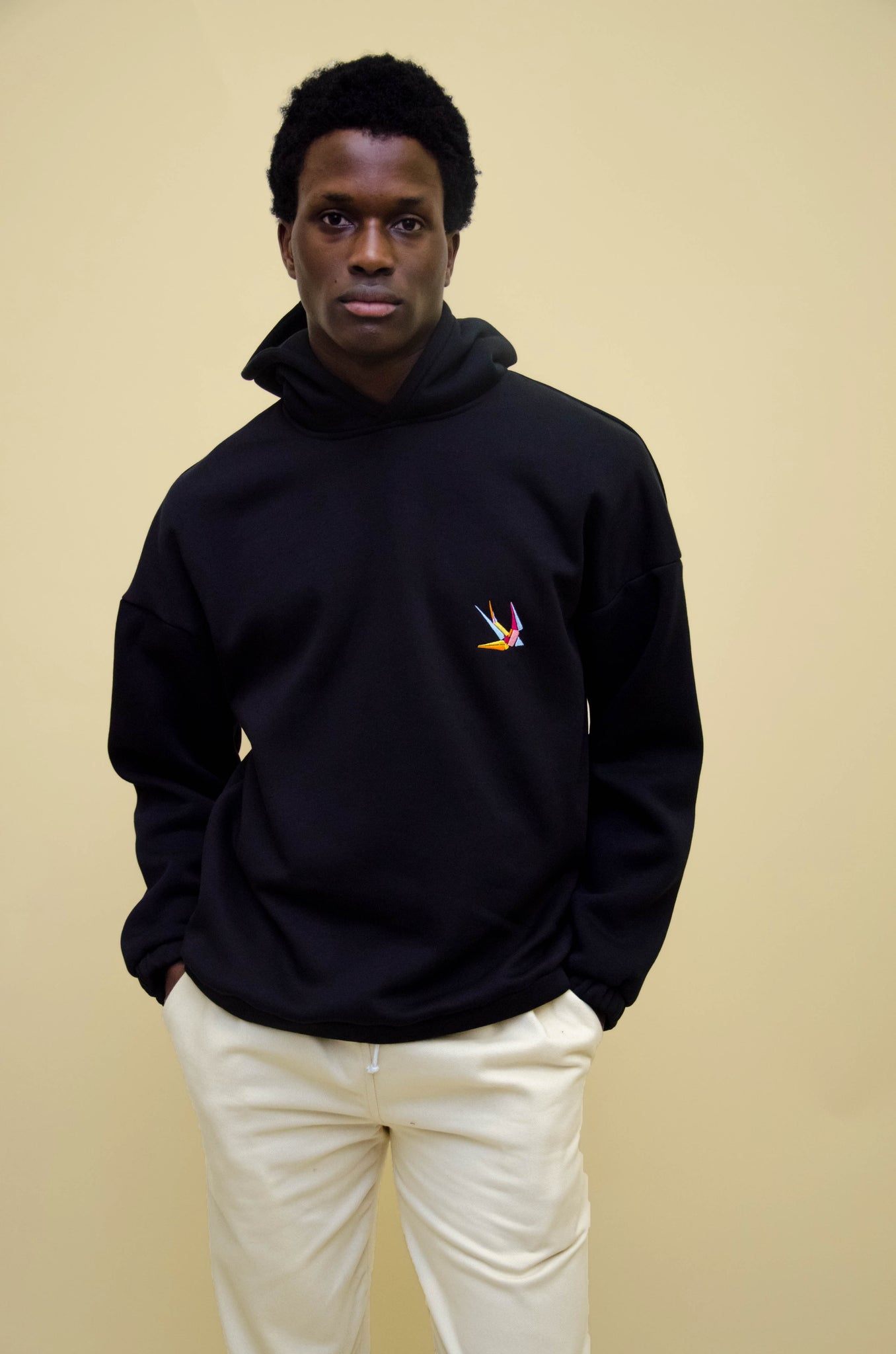 The North Hill Hirondelle Hoodie is a made in France sweatshirt