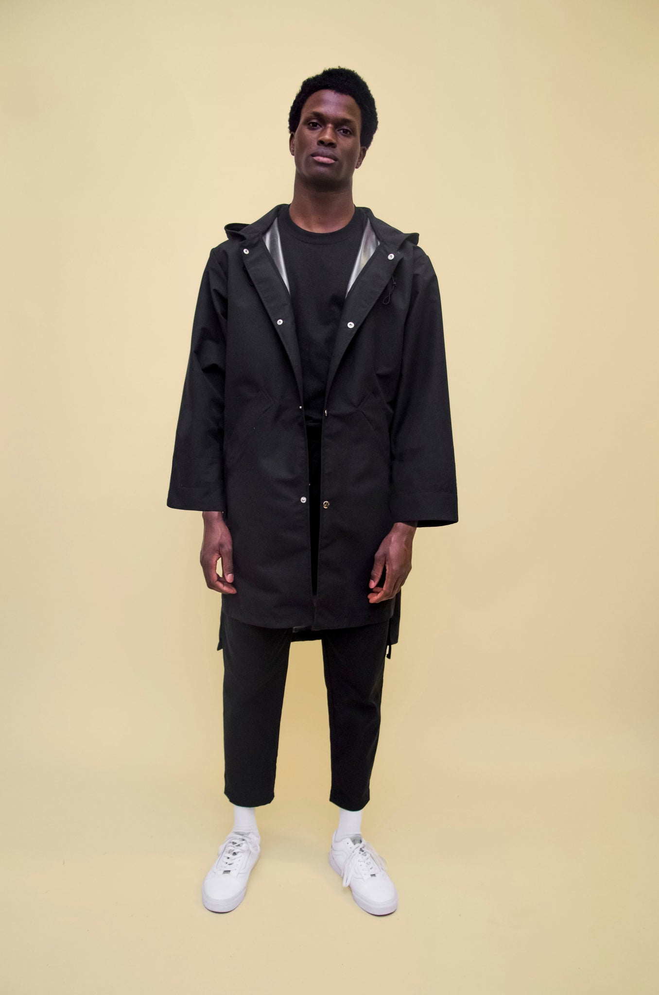 The North Hill Colline Rain Jacket is a made in France waterproof Jacket