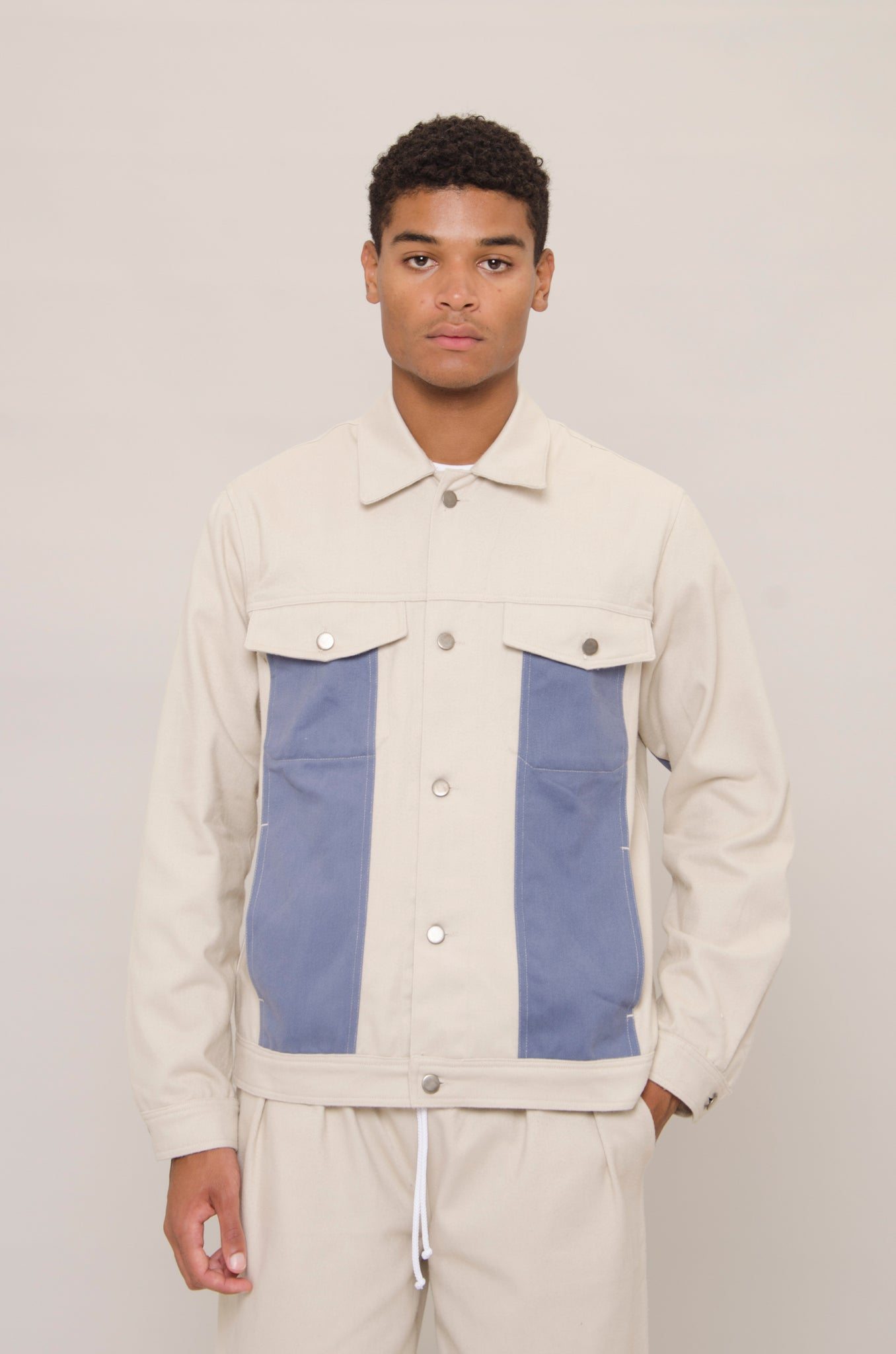 Oyster Denim Jacket