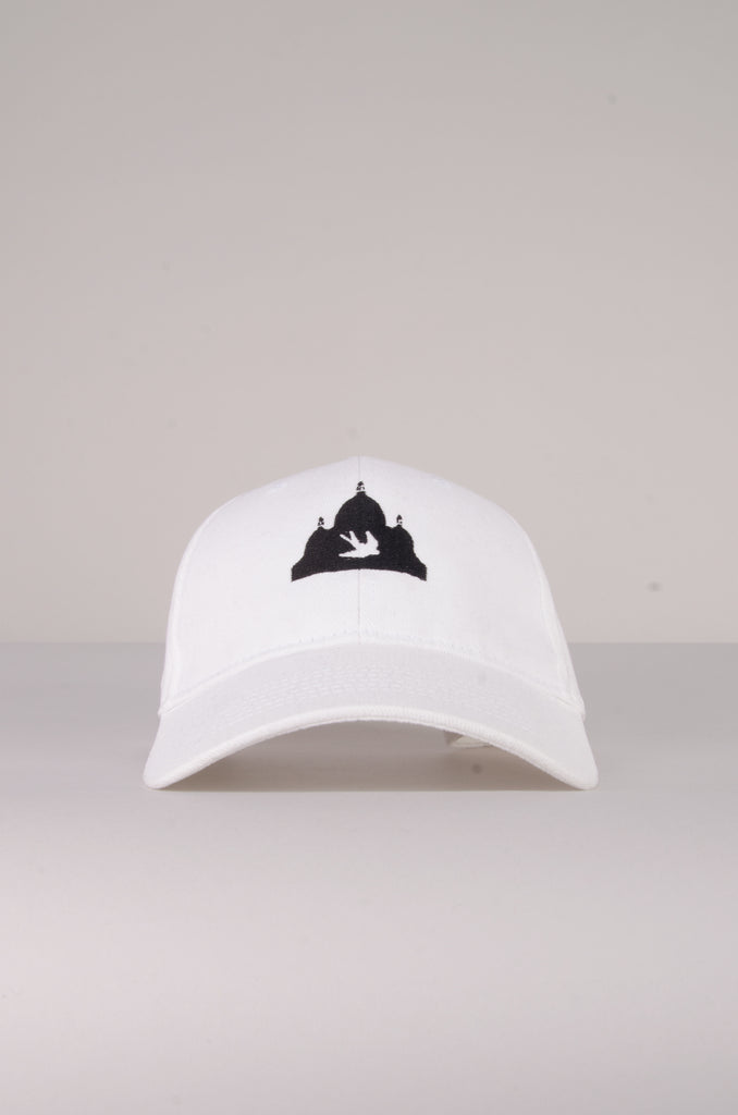 White Logo Hat