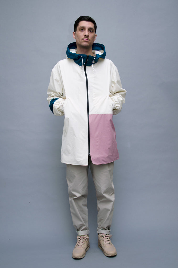 The North Hill Lego Rain Jacket is a made in France jacket