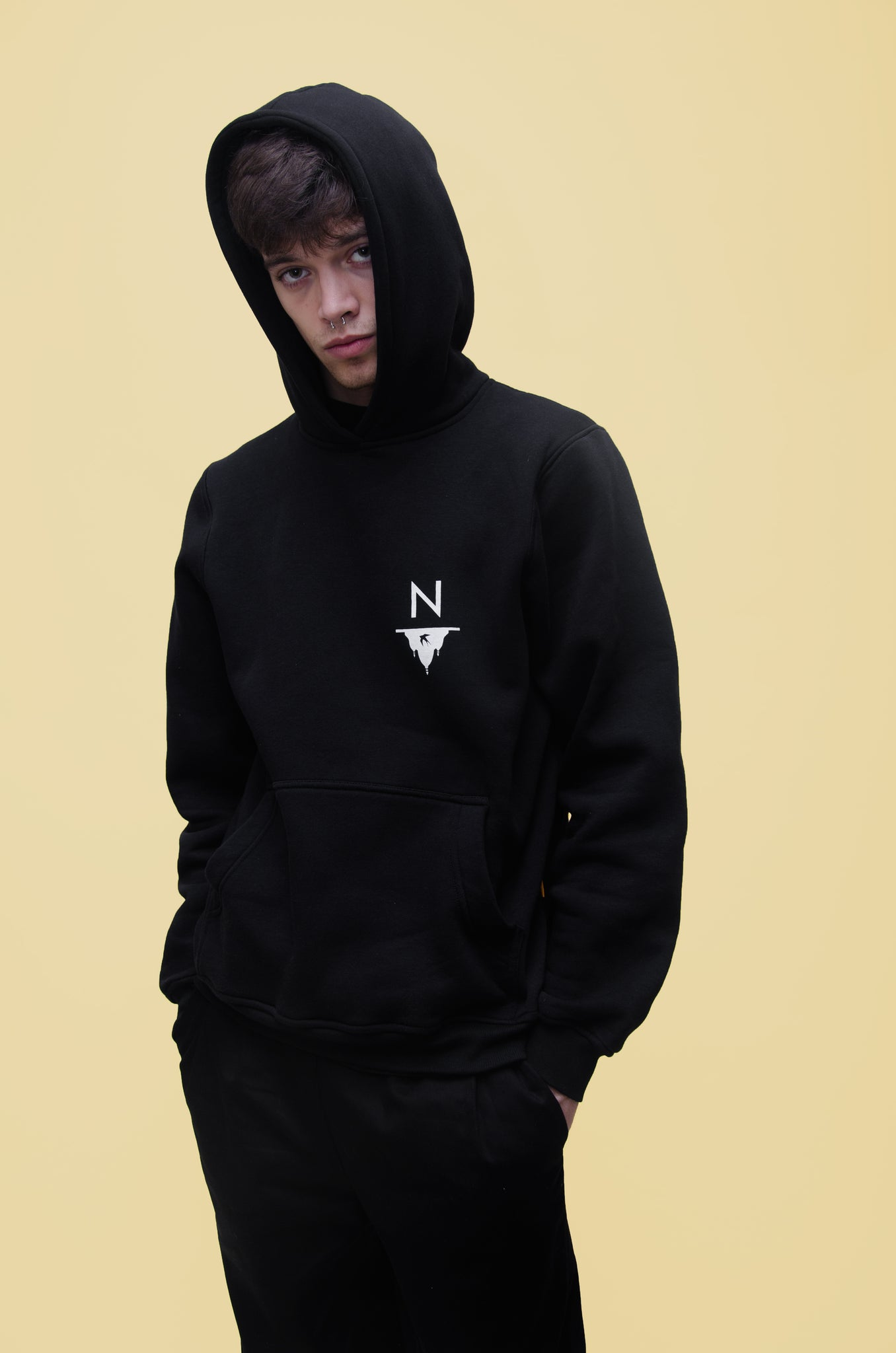The North Hill Tour Hoodie is a made in France sweatshirt