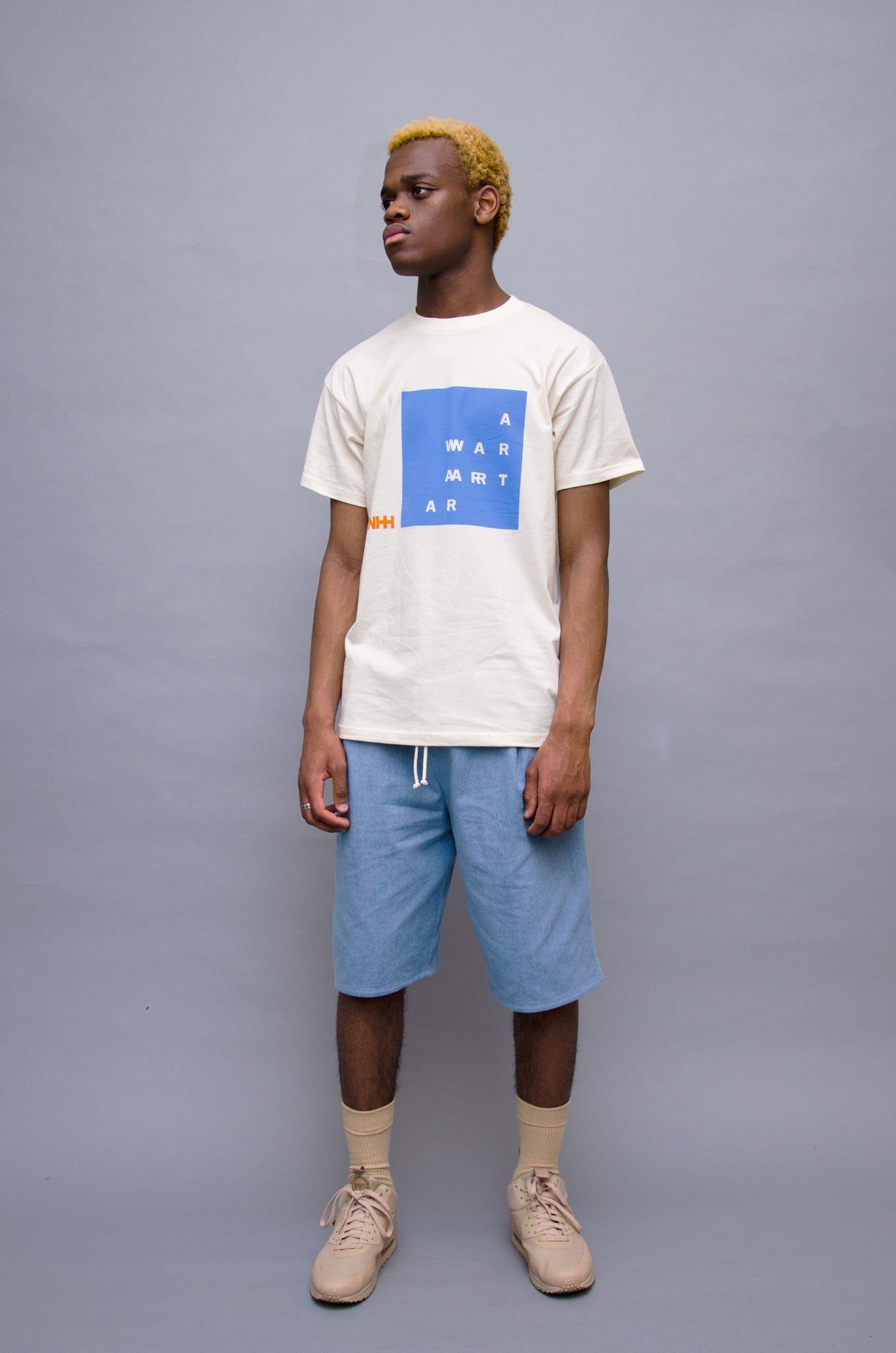 The North Hill Two-tone Warrior Tee is a made in France t-shirt