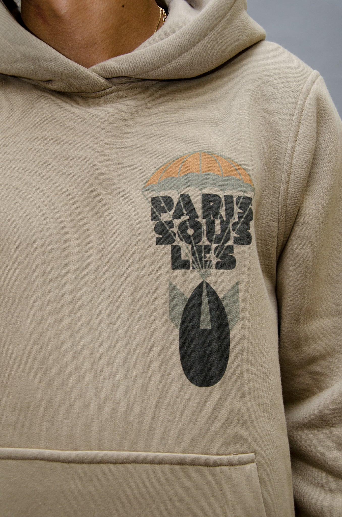 The North Hill Bomb Hoodie is a made in France sweatshirt.