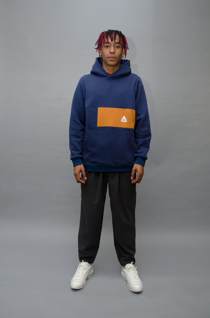 The North Hill Brick Hoodie is a made in France sweatshirt.