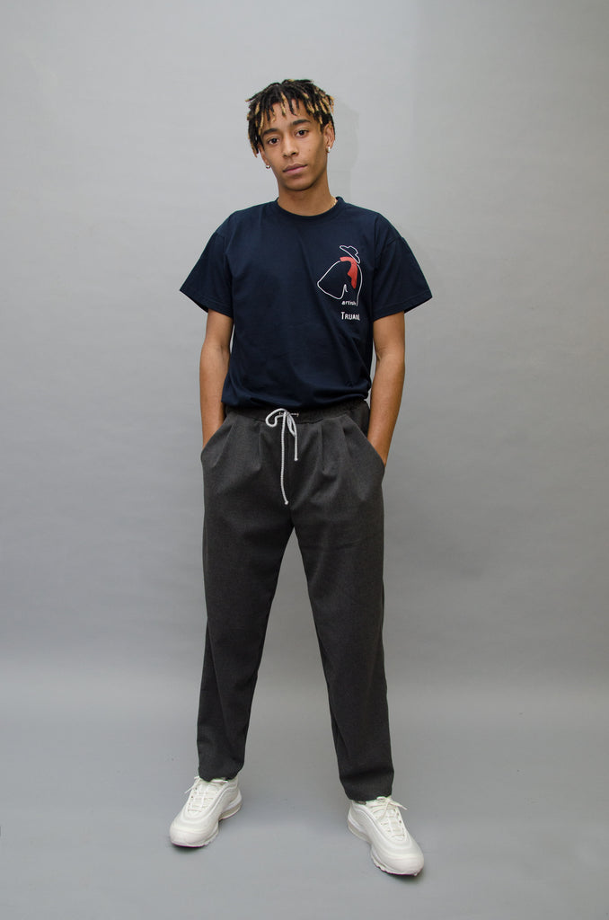 The North Hill Flannel Carrot Pants is a made in France pants